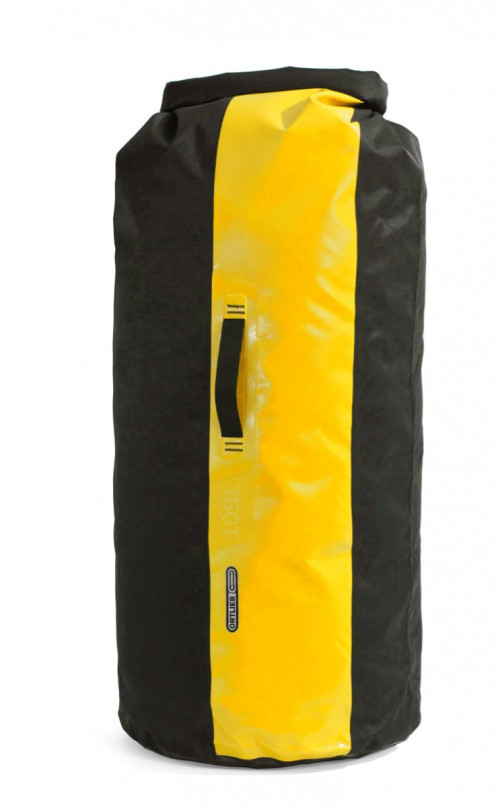 Ortlieb Dry Bag Black-Sunyellow 109 L