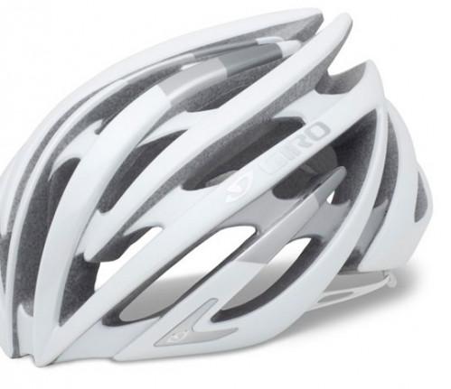 Giro Sykkelhjelm Aeon Matte White/Silver