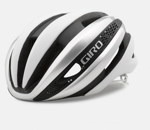 Giro Sykkelhjelm Synthe Mips Matte White/Silver