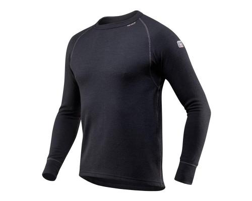 Devold Expedition Man Shirt Black/Sort Herre