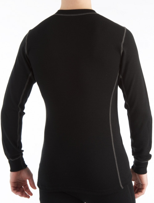 Aclima WarmWool Crew Neck Man Black
