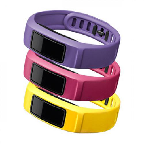 Garmin Energy - Canary/Pink/Violet, Large (vívofit® 2 Bands)