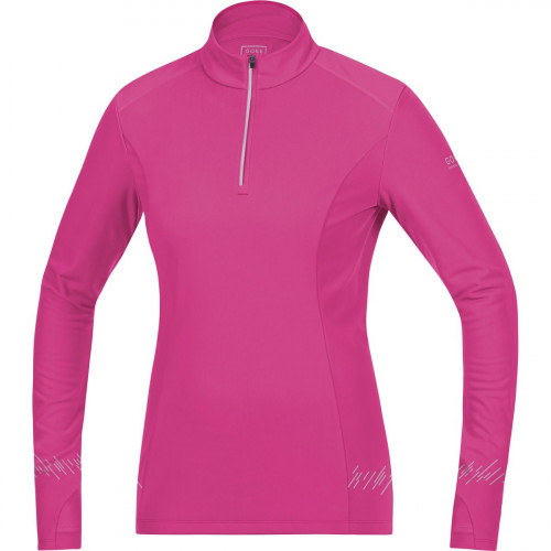 Gore Running Wear Mythos Lady 2.0 Thermo Shirt Long Raspberry Rose