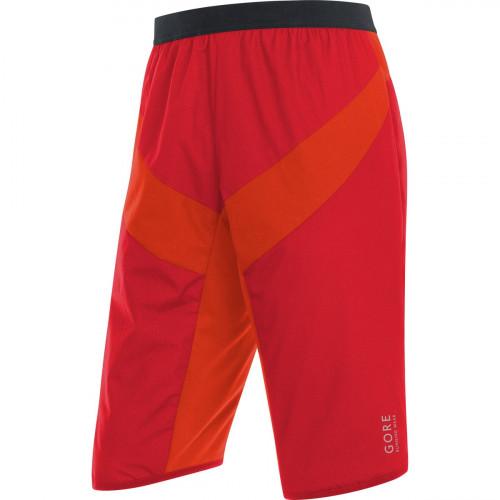 Gore Running Wear Essential Gore Windstopper Insulated Shorts Red/Orange