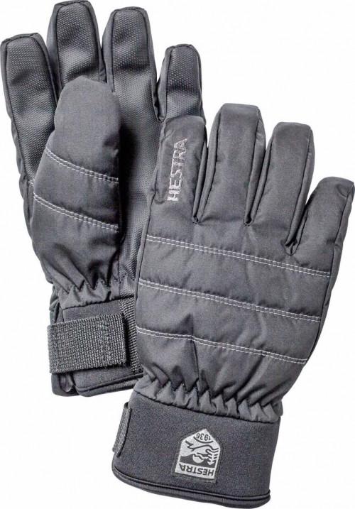 Hestra Czone Primaloft Jr. - 5 Finger Svart