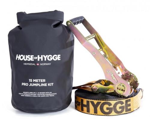 House Of Hygge 15 meter Pro Slakkline® Jump Kit