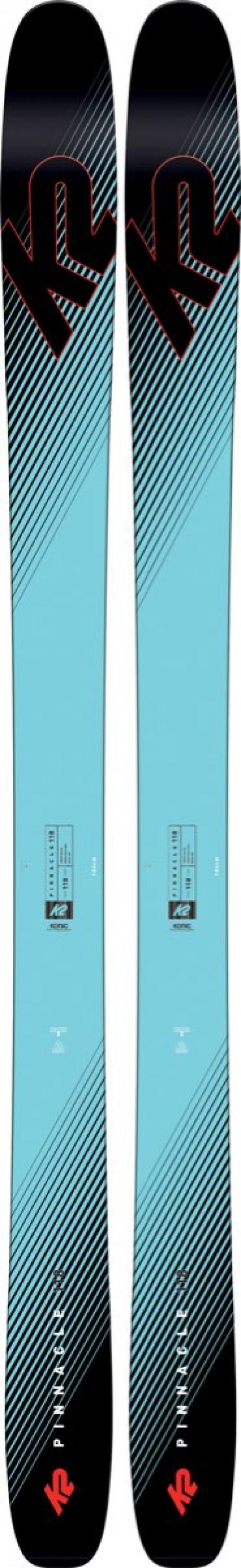 K2 Skis Pinnacle 118 Blå/Svart
