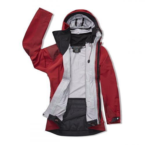 Klättermusen W's Brede Jacket Burnt russet