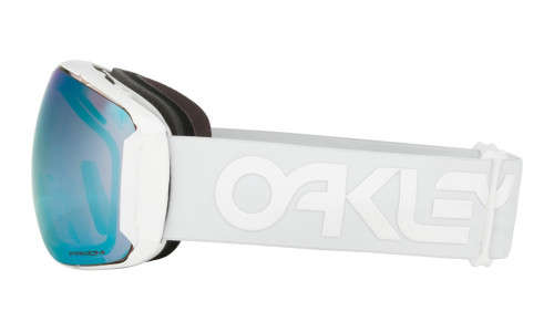 Oakley Airbrake Xl Polished White PRIZM SAPPHIRE IRIDIUM & PRIZM HI PINK IRIDIUM