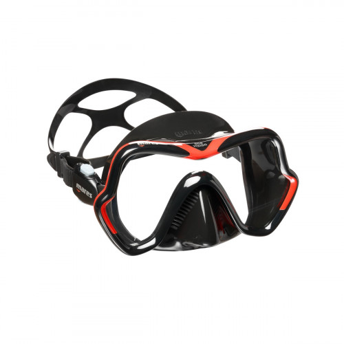 Mares Mask One Vision Red/Black/Black Adult