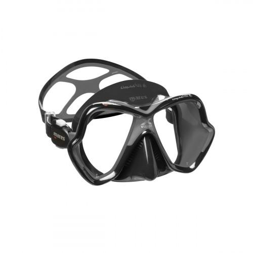 Mares Mask X-Vision Ultra Liquidskin Grey/Black Adult