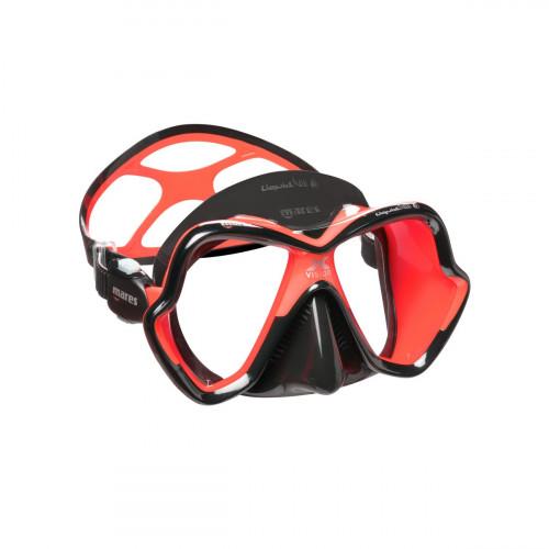 Mares Mask X-Vision Ultra Liquidskin Red/Black Adult