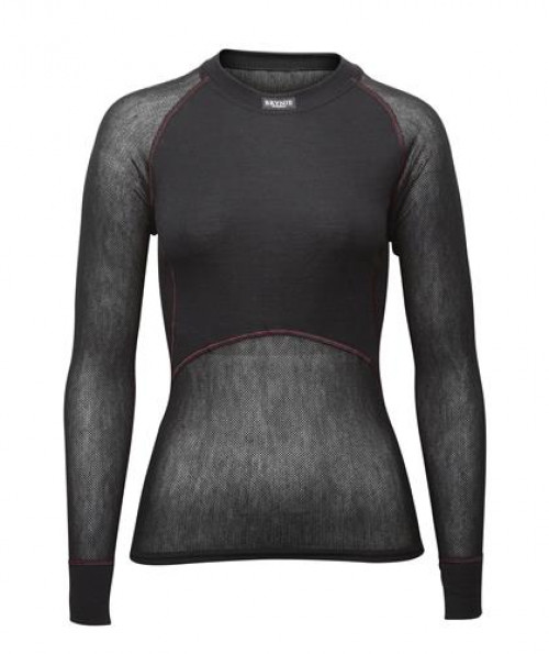 Brynje Lady Wool Thermo Light Shirt Black