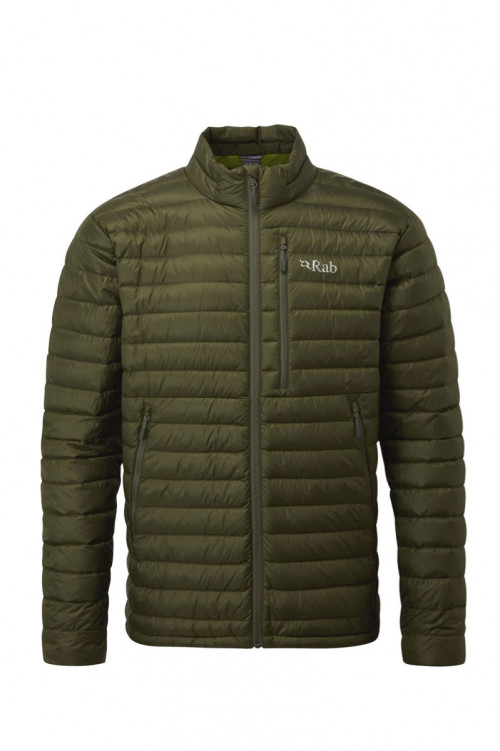 Rab Microlight Jacket Army/Cactus