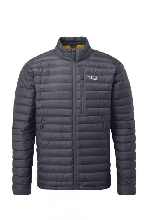 Rab Microlight Jacket Beluga / Dijon