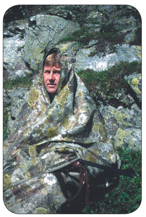 Jerven Jervenduken Mini Hunter Fjellkamuflasje 94x186cm