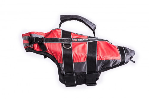 Non-Stop Dogwear Safe Life Jacket Red/Black 8