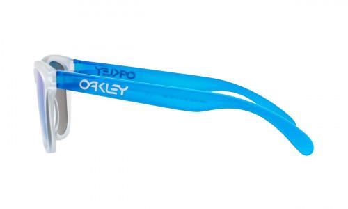 Oakley Frogskins Sapphire Iridium Matte Clear