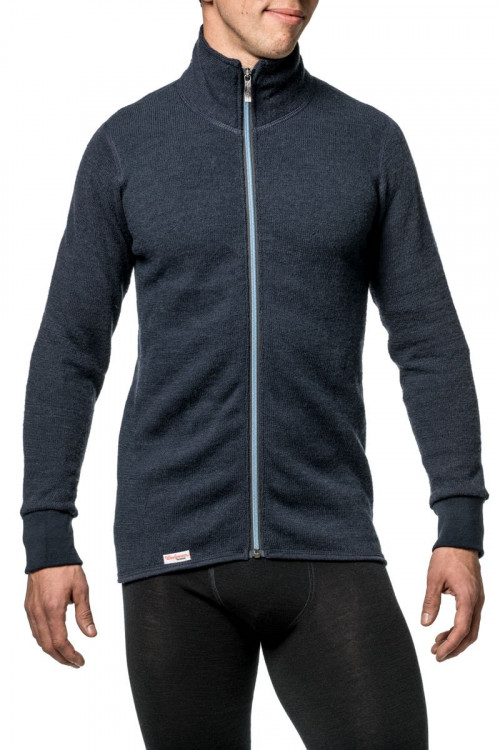 Woolpower Full Zip Jacket CC Dark Navy/Nordicblue