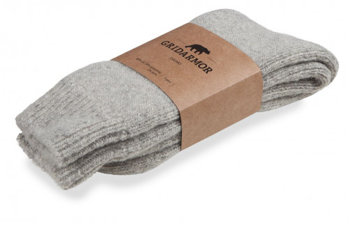 Gridarmor Eskimo Wool Sock Grey