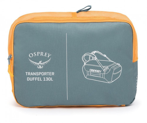 Osprey Transporter 130 Kingfisher Blue O/S
