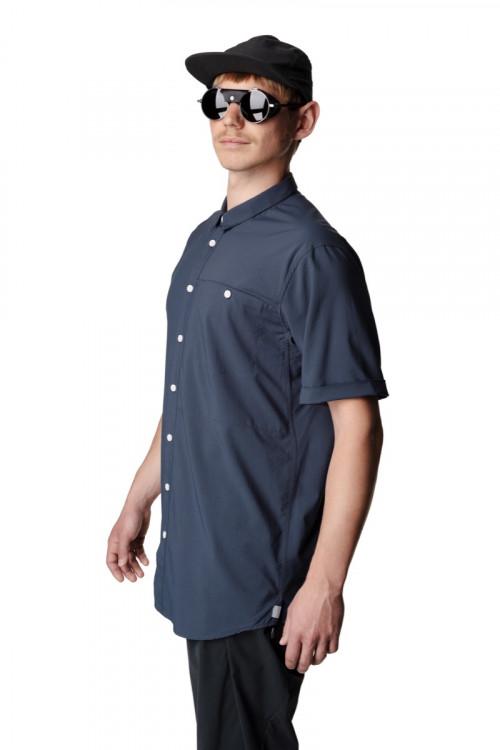 Houdini M's Shortsleeve Shirt Big Bang Blue