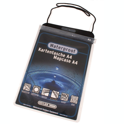 Ortlieb Document Bag Transparent DIN A4