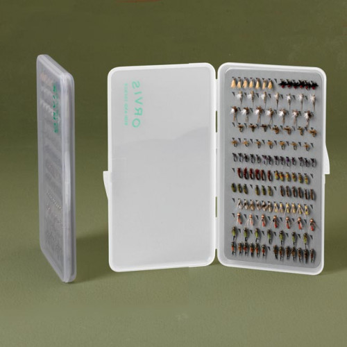 Orvis Super Slim Fly Box L Klar