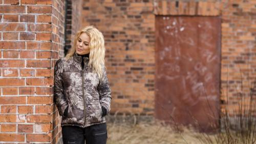 Pinewood Reswick Camou Jacket Women Strata