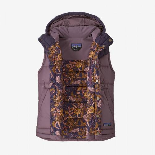 Patagonia W Bivy Hooded Vest Hyssop Purple