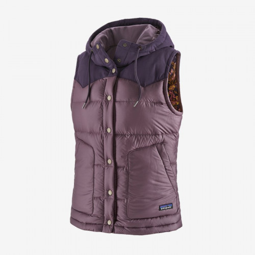 Patagonia W Bivy Hooded Vest Hyssop Purple