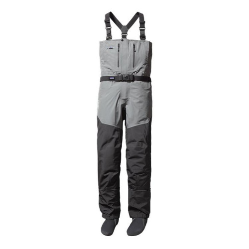 Patagonia Men's Rio Gallegos Zip Front Waders - Regular Forge Grey