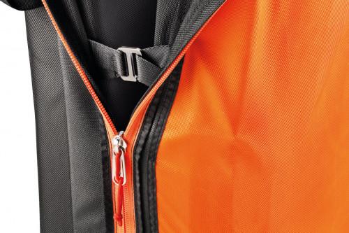 Petzl Cirro Stor Buldrematte Oransje/sort 148x118x12,5cm