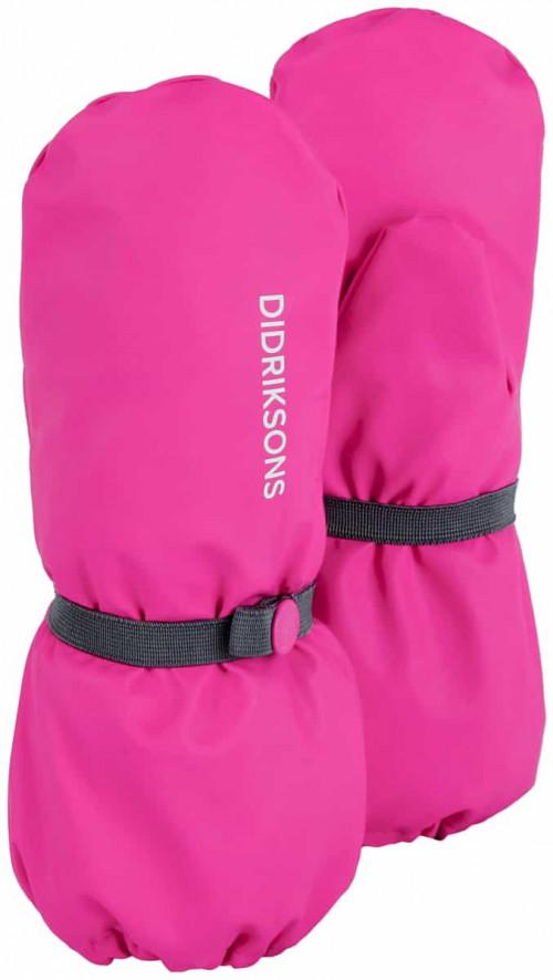Didriksons Pileglove Kid's 3 Plastic Pink