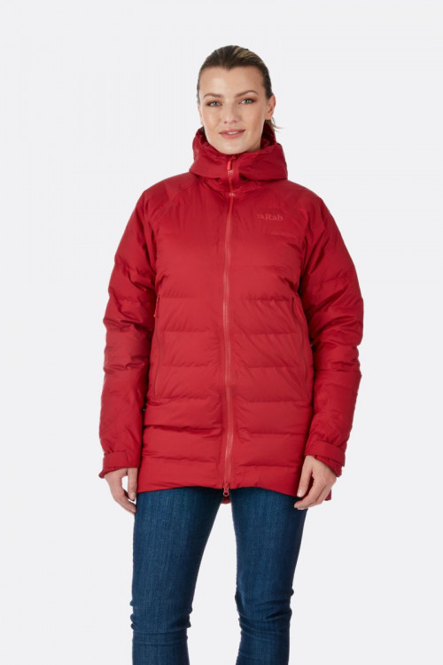 Rab Valiance Parka Womens Crimson