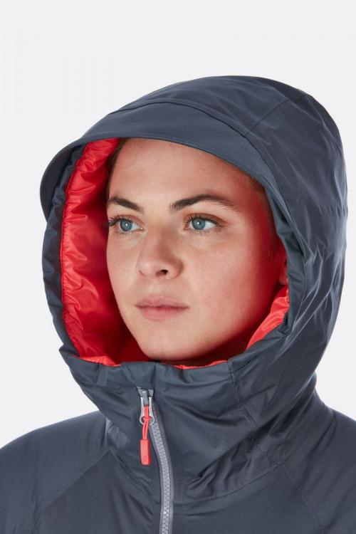 Rab Valiance Jacket Womens Crimson