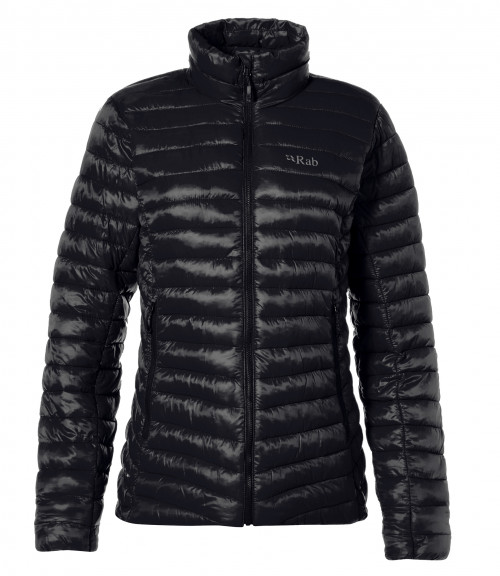 Rab Microlight Jacket Womens Black / Seaglass