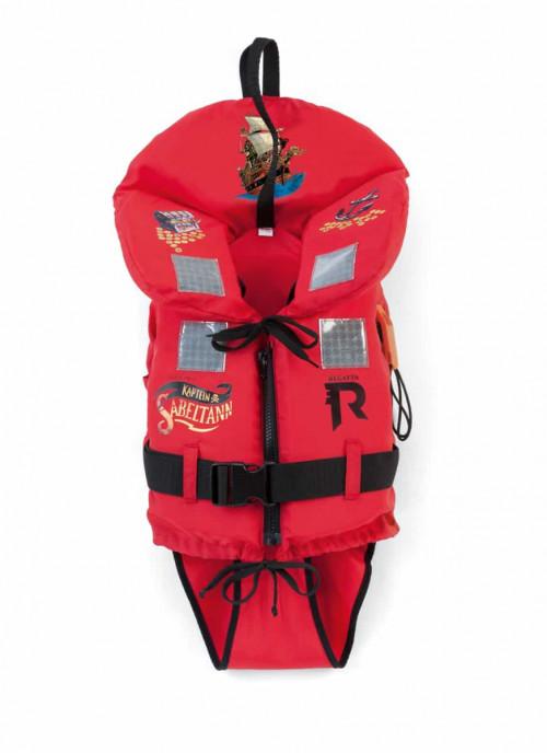 Regatta Redningsvest Kapt.Sabelt 5-15kg Rød