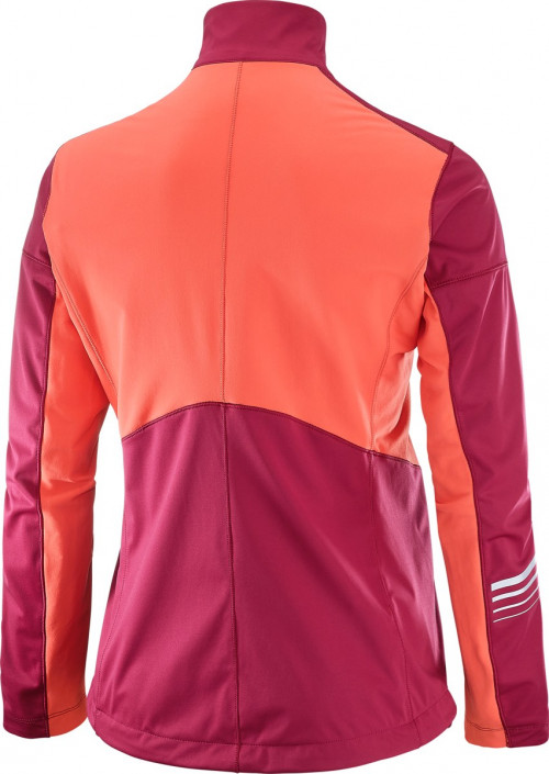 Salomon Lightning Sshell Jkt W Beet Red/Fluo Cor