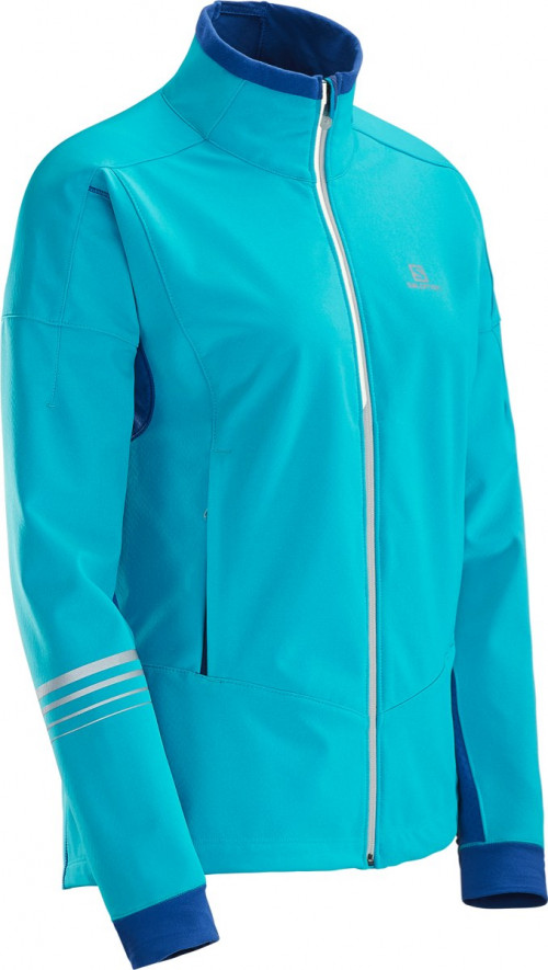 Salomon Lightning Warm Sshell Jkt W Blue Bird/So
