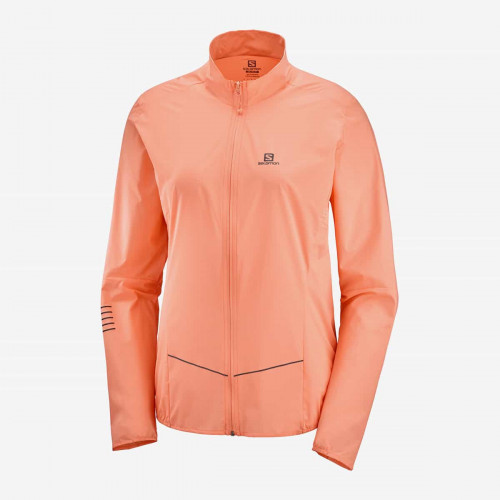 Salomon Sense Jacket Women's Papaya