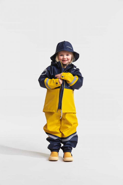 Didriksons Southwest Kid's 3 Navy
