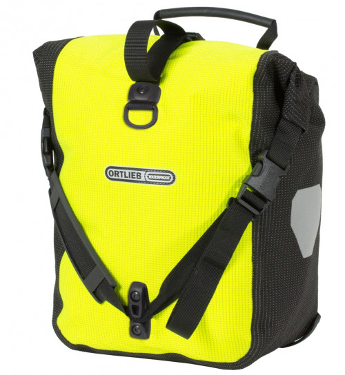 Ortlieb Sport-Roller High Visibility (Pair) Neon Yellow- Black Reflective QL2.1