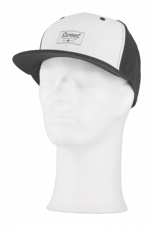 Sweet Protection Label Snapback Cap White/Black