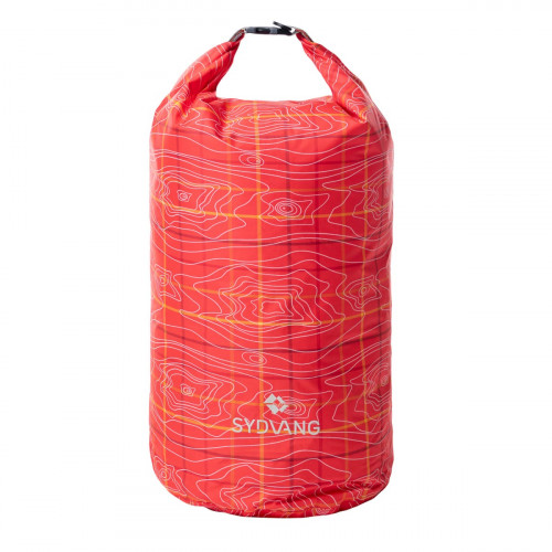 Sydvang Pattern Drybag 15L Red  One Size