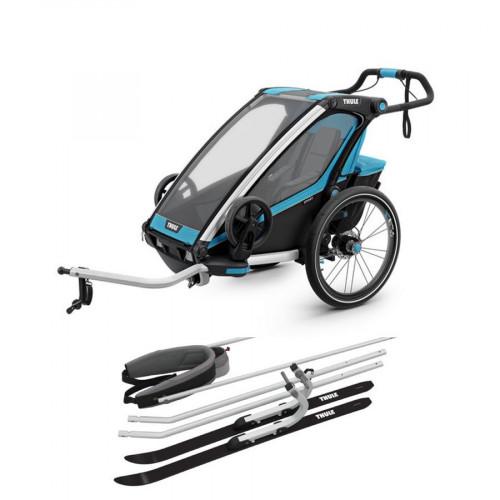 Thule Chariot Sport 1 Inkludert Langrennsett