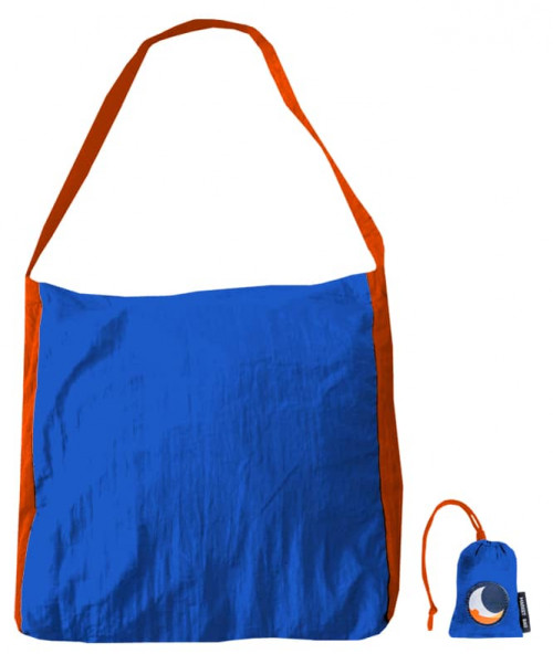Ticket To The Moon Eco Market Bag Blue Purple/Red 46 x 42 cm