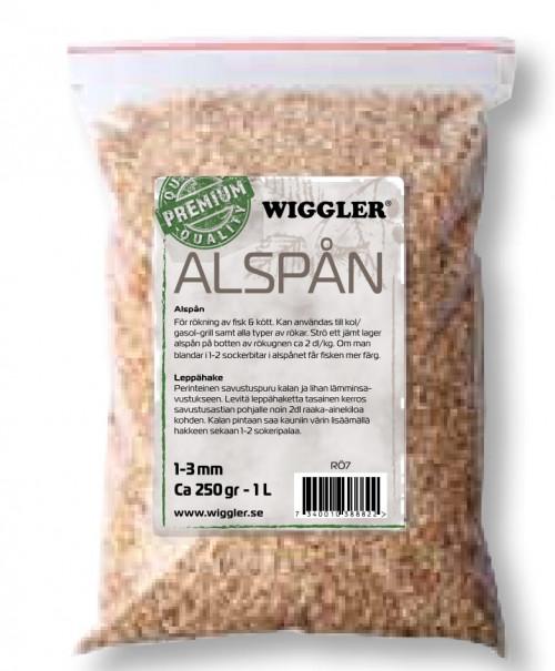 Wiggler Alspån 250gr