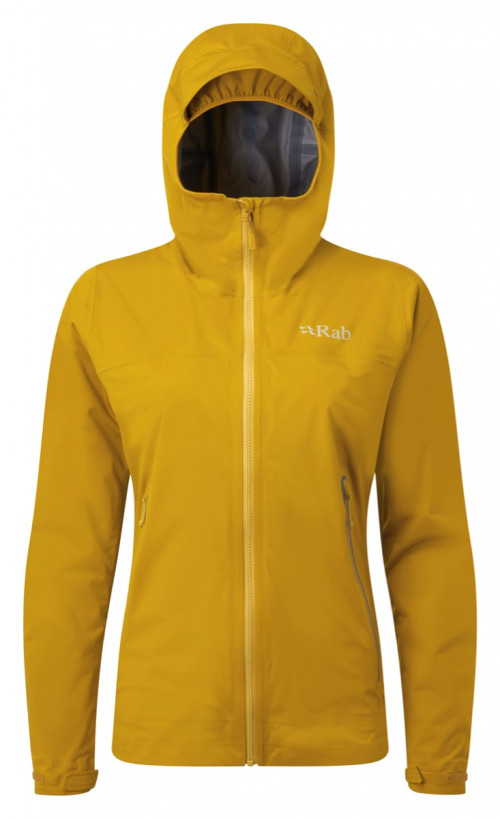 Rab Kinetic Plus Jkt Wmns Dark Sulphur