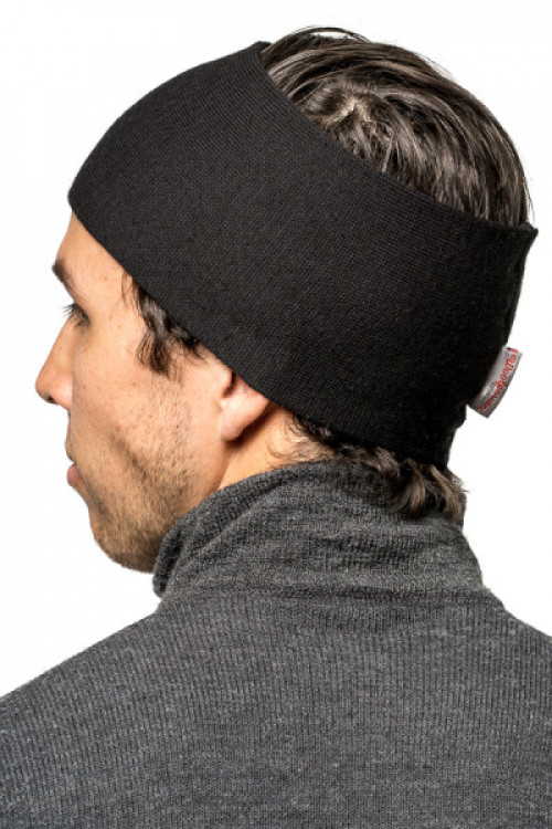 Woolpower Headband Black